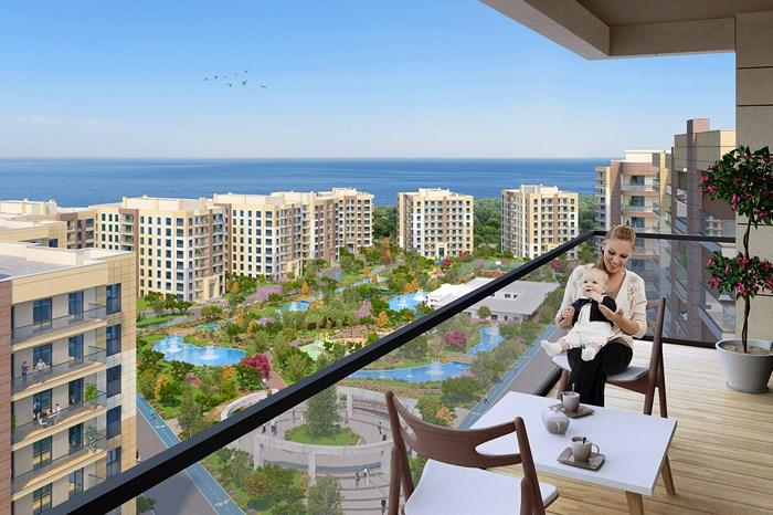 Apartments For Sale in Buyukcekmece, Istanbul - Bizim Evler Guzelce Project | Istanbul Property