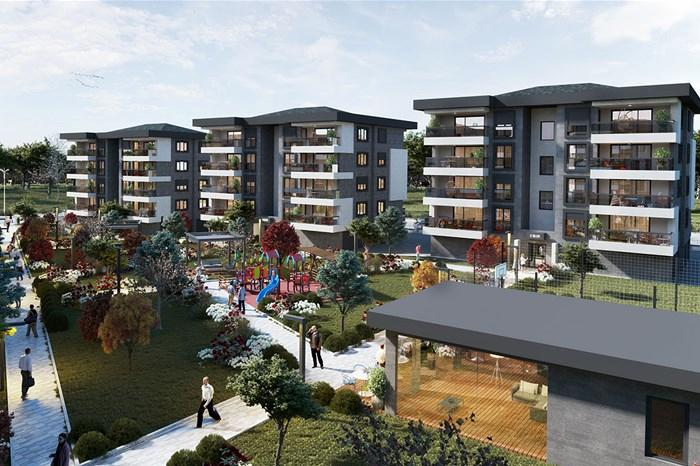 Apartments For Sale in Aydin - Bahcem Project | Istanbul Property