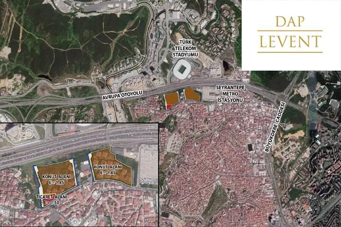 Apartments For Sale in Levent, Istanbul - DAP Levent Project | Istanbul Property
