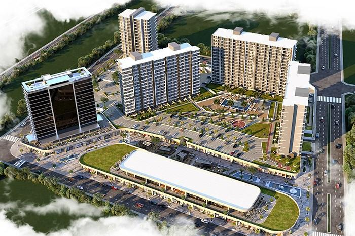 Apartments For Sale in Manisa - Manisa Meydan Project | Istanbul Property