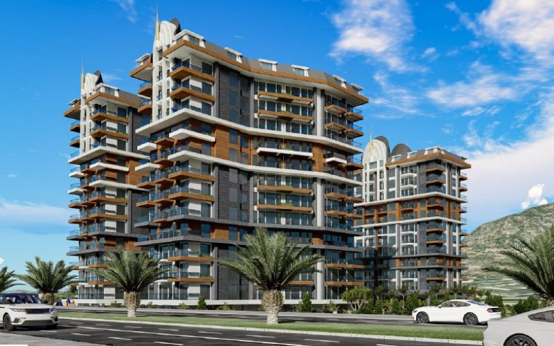 Cebeci Towers Property in Alanya